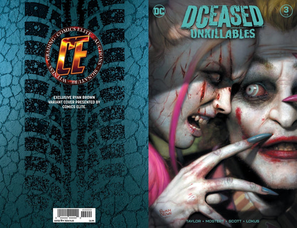 DCEASED UNKILLABLES #3 RYAN BROWN Bundle A Includes 3 Bonus Books