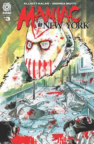 🚨😱🔥 MANIAC OF NEW YORK #3 Andrea Mutti Main Cover Aftershock NM Gemini