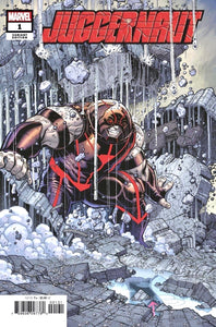 JUGGERNAUT #1 NICK BRADSHAW 1:50 Ratio Incentive Variant