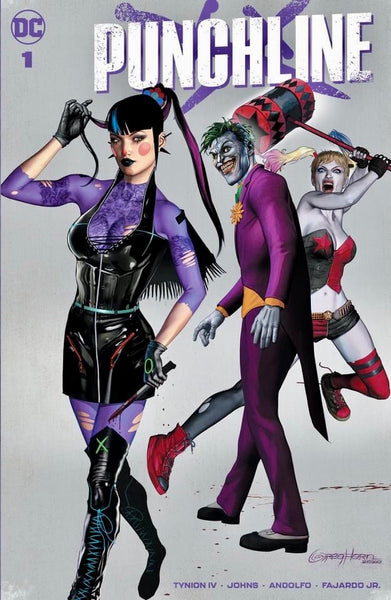 PUNCHLINE #1 GREG HORN SET OF 3 Exclusive Variants Cvr A B C Joker War