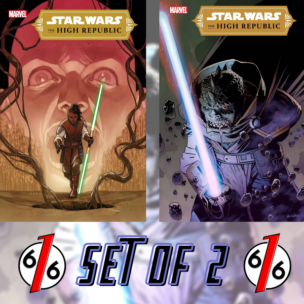 🚨🔥 STAR WARS THE HIGH REPUBLIC #3 SET OF 2 Main Cover & Walker 1:25 Variant NM