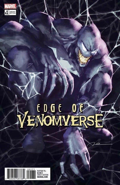 EDGE OF VENOMVERSE #1 GERALD PAREL Exclusive Variant McFarlane Homage