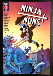 🚨⛪️🗡 NINJA NUNS BAD HABITS DIE HARD ONE SHOT #1 Main Cover A NM Gemini