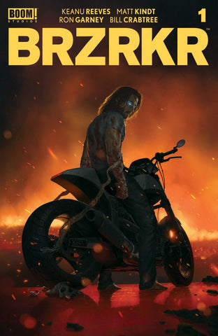 BRZRKR #1 RAHZZAH 616 Exclusive Cover B Motorcycle Trade Dress Variant LTD 1000
