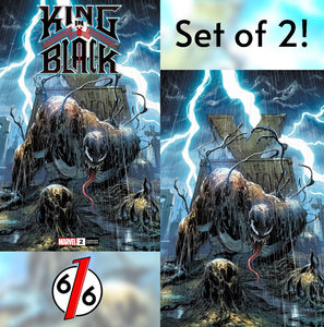 🚨🕸🔥 KING IN BLACK #2 TYLER KIRKHAM EXCLUSIVE VARIANT Set of 2 NM Gemini