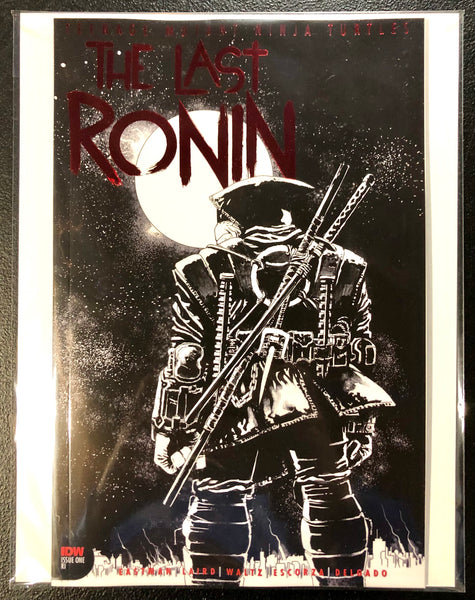 TMNT THE LAST RONIN #1 RETAILER THANK YOU VARIANT Red Foil