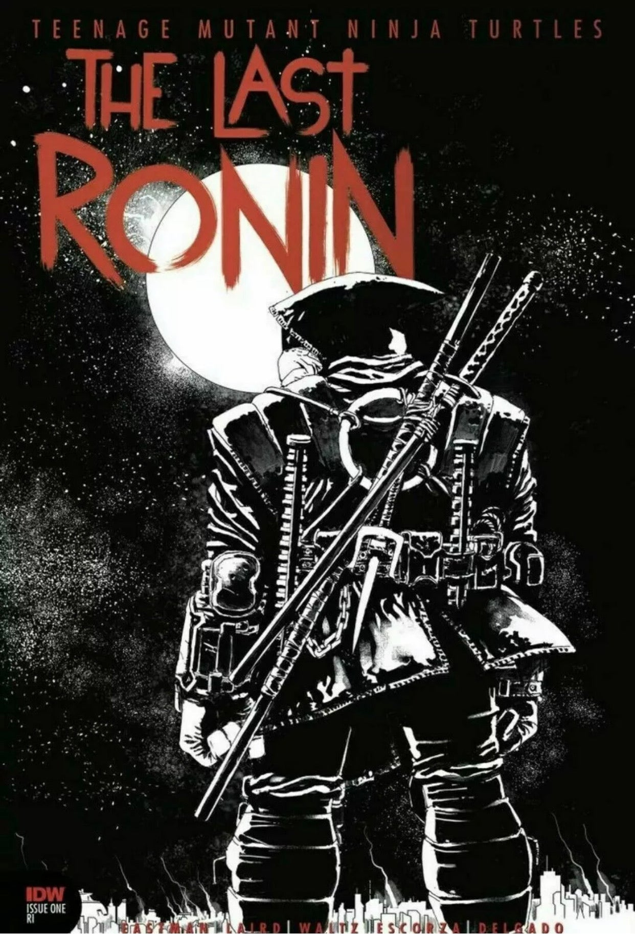 🚨🐢 TMNT THE LAST RONIN #1 RETAILER THANK YOU VARIANT Red Foil