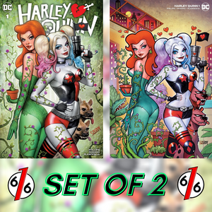 HARLEY QUINN #1 SZERDY SET OF 2 Trade & Minimal Trade Dress Variant LTD 1500