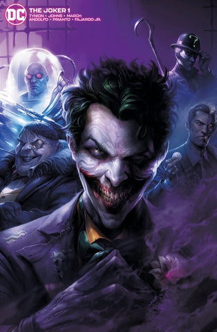 JOKER #1 FRANCESCO MATTINA VARIANT Minimal Trade Dress LTD 1500