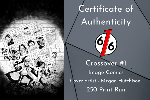 CROSSOVER #1 MEGAN HUTCHISON MEGA BUNDLE 2 Exclusive Variants + 5 Ratio Incentives