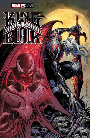 🔥🕸 KING IN BLACK #1 TYLER KIRKHAM Exclusive Trade Dress Variant Knull Venom NM