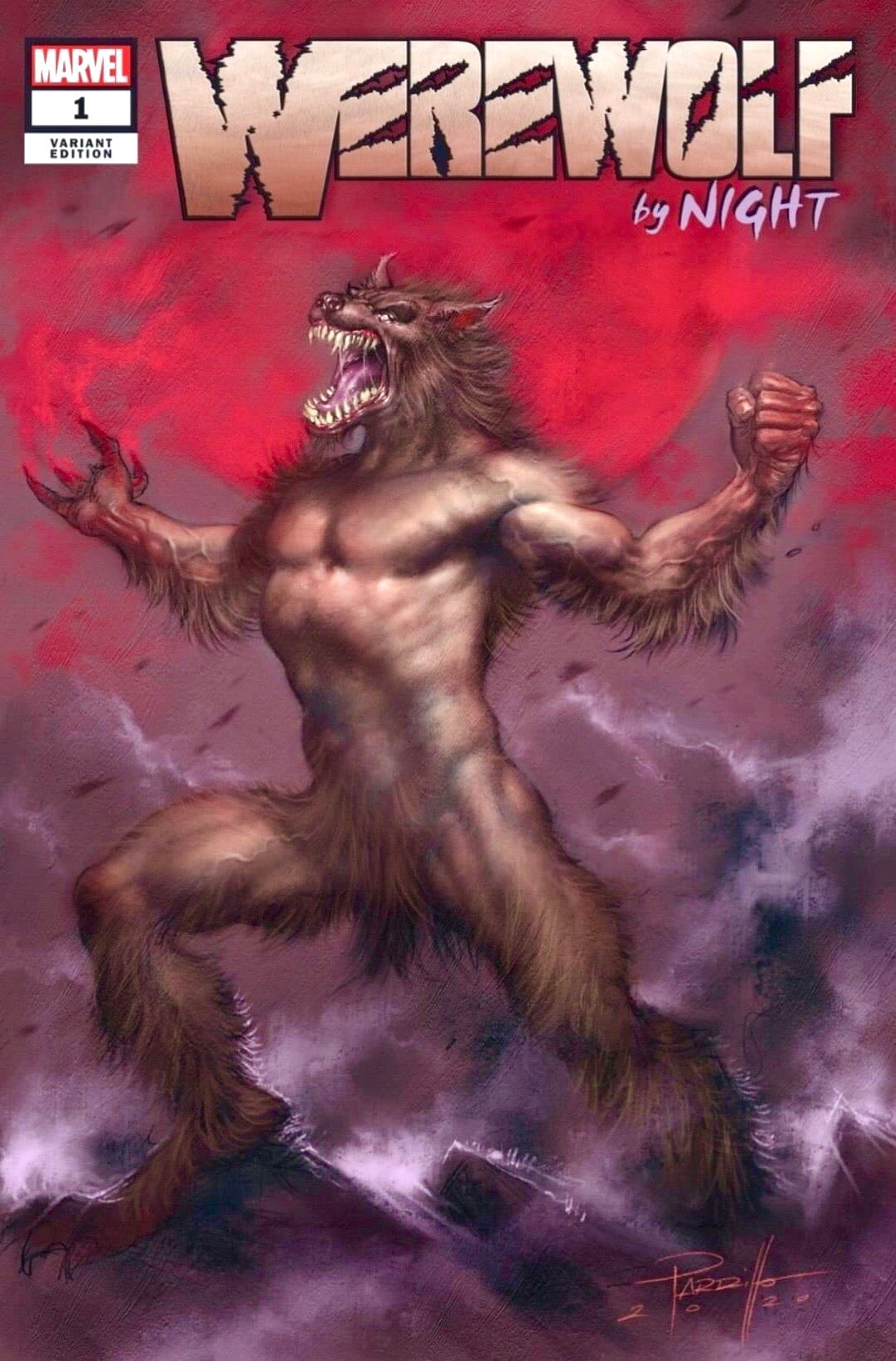 WEREWOLF BY NIGHT #1 LUCIO PARRILLO CK Exclusive Trade Dress Pre-Sale
