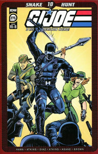 💥🔥 GI JOE #275 LARRY HAMA 1:25 Ratio Incentive Variant NM Snake Eyes