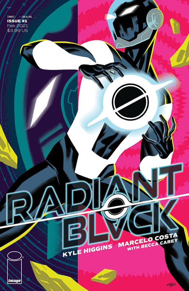 RADIANT BLACK #1 SET OF 2 Cover A Cho & Cover B Costa Variant