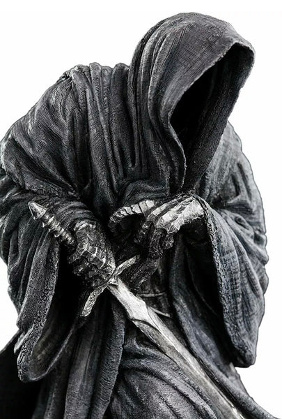 "LORD OF THE RINGS RINGWRAITH STATUE WETA Workshop 6"" Hand Painted Nazgul"