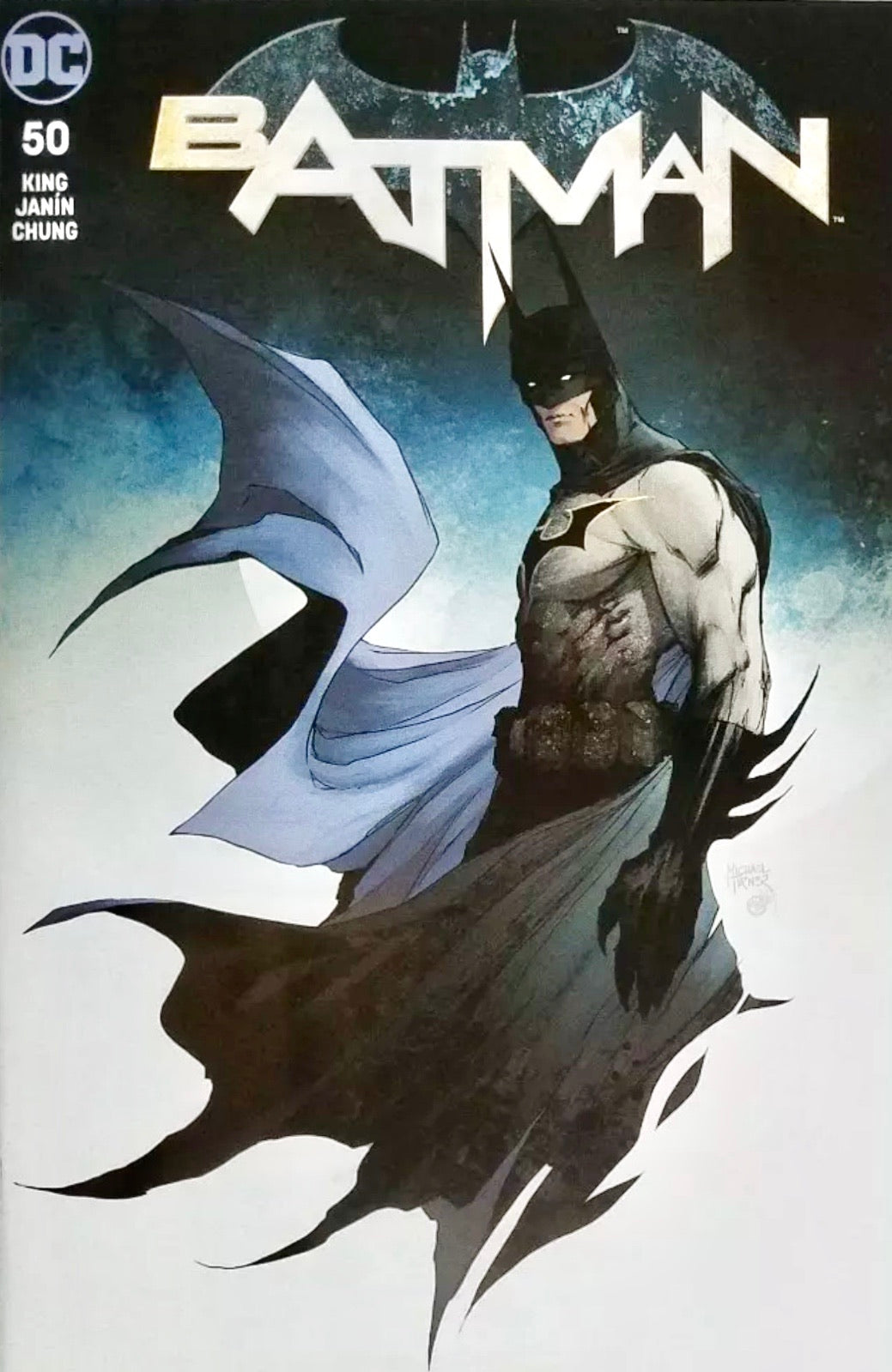 BATMAN #50 MICHAEL TURNER EXCLUSIVE Cover B
