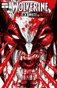 WOLVERINE BLACK WHITE & BLOOD #1 TYLER KIRKHAM Trade Dress Variant
