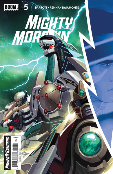 MIGHTY MORPHIN #5 SET OF 2 Main Cover & Inhyuk Lee 1:10 Virgin Variant