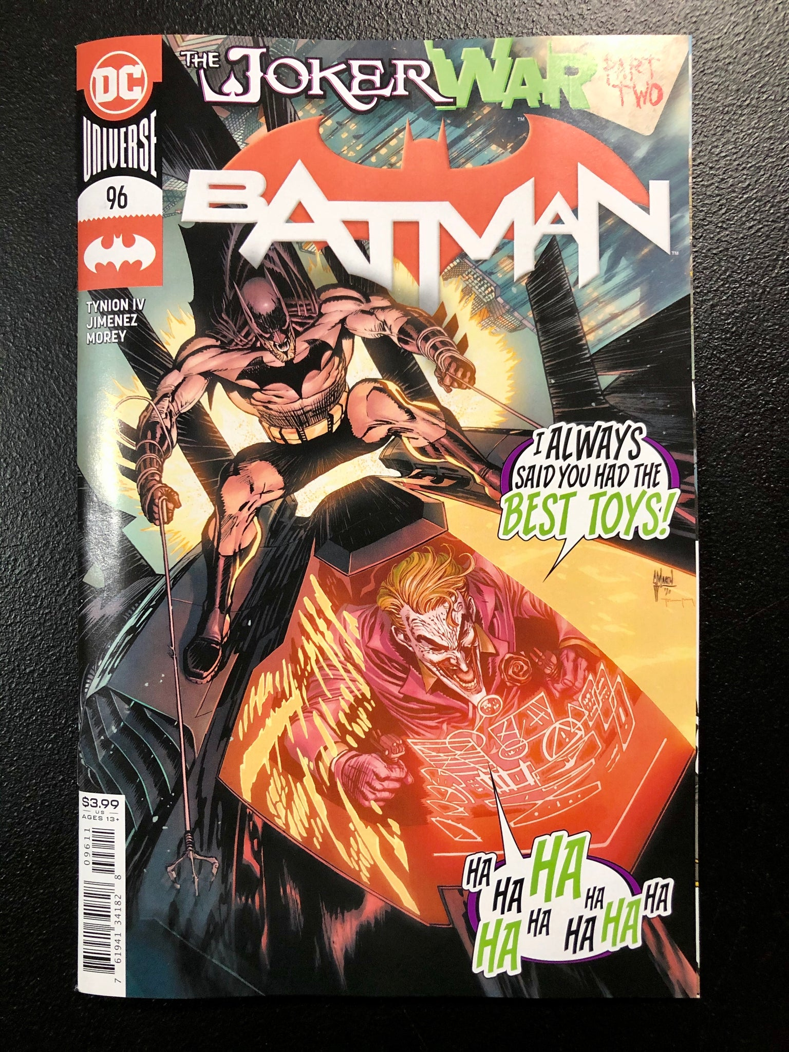 BATMAN #96 Cover A Guillem March JOKER WAR
