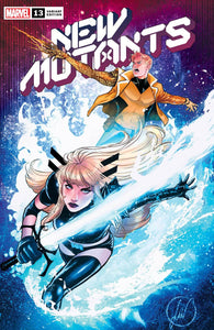 NEW MUTANTS #13 LUCAS WERNECK Trade Dress Variant X OF SWORDS