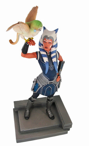 STAR WARS PREMIER COLLECTION CLONE WARS AHSOKA TANO STATUE