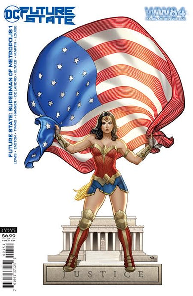 WONDER WOMAN 1984 VARIANT SET OF 3 Campbell + Frank Cho + Adam Hughes