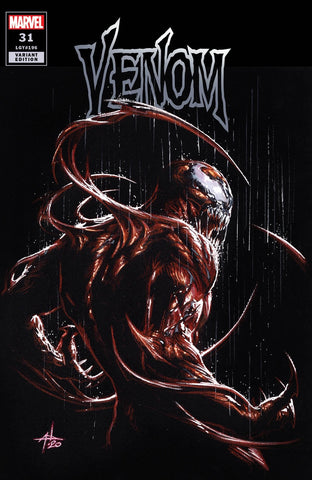 🚨🕸 VENOM #31 GABRIELE DELL'OTTO Carnage Trade Dress Variant King In Black NM