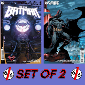 🚨🔥 FUTURE STATE THE NEXT BATMAN #4 SET OF 2 Ladronn & Jim Lee Variant NM