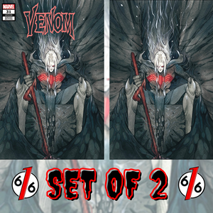 🚨🔥🕸 VENOM #31 PEACH MOMOKO SET OF 2 Trade Dress + Virgin King In Black Knull