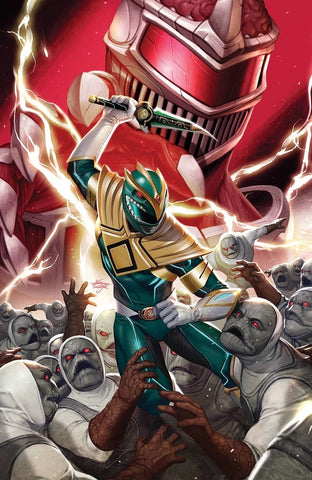 MIGHTY MORPHIN #2 INHYUK LEE 1:50 Ratio Variant