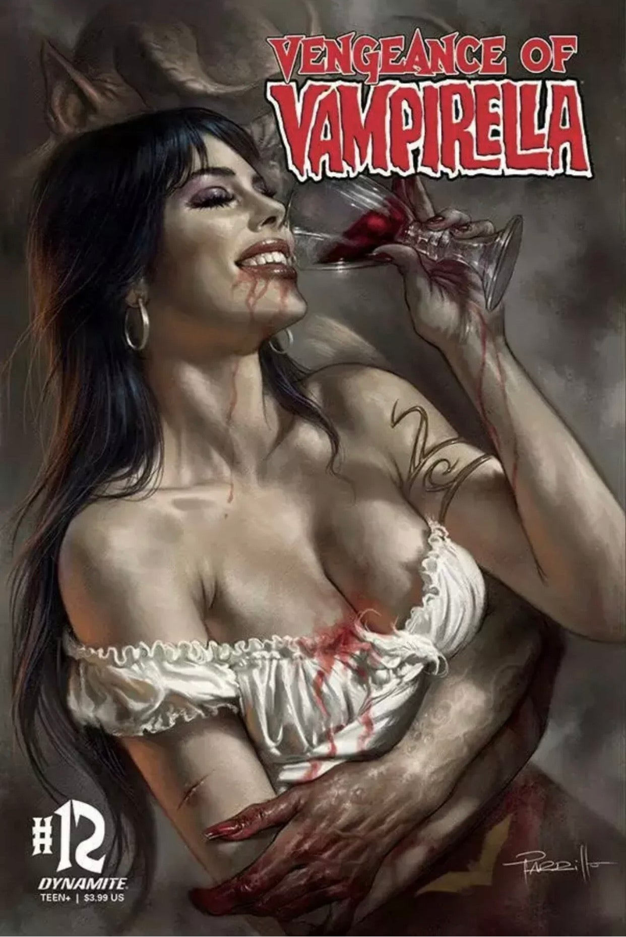 🚨🦇🔥 VENGEANCE OF VAMPIRELLA #12 Cover A Parrillo Variant Gemini Shipping NM