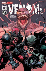 VENOM INC ALPHA #1 LEINIL FRANCIS YU Cover A Exclusive Variant Ltd 3000