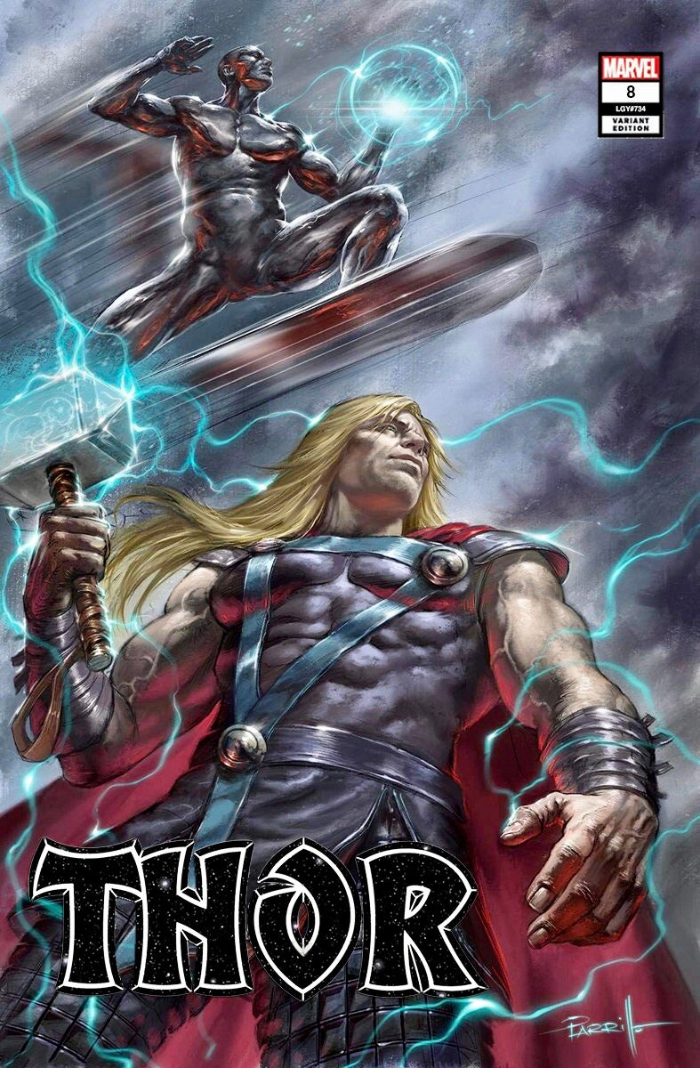 THOR #8 LUCIO PARRILLO EXCLUSIVE Trade Dress Variant