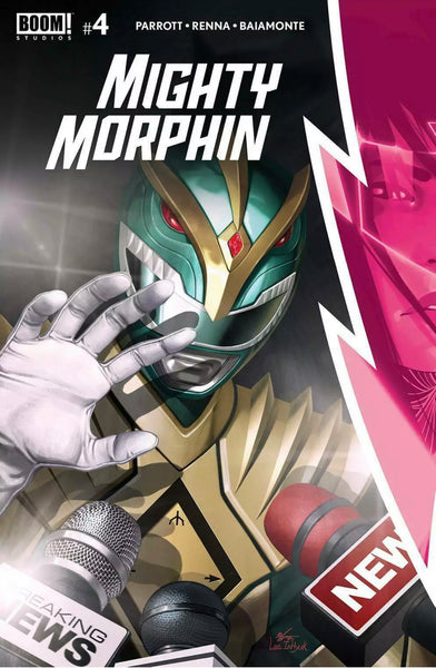 MIGHTY MORPHIN #4 INHYUK LEE SET OF 2 1:10 Virgin Variant & Main Cover