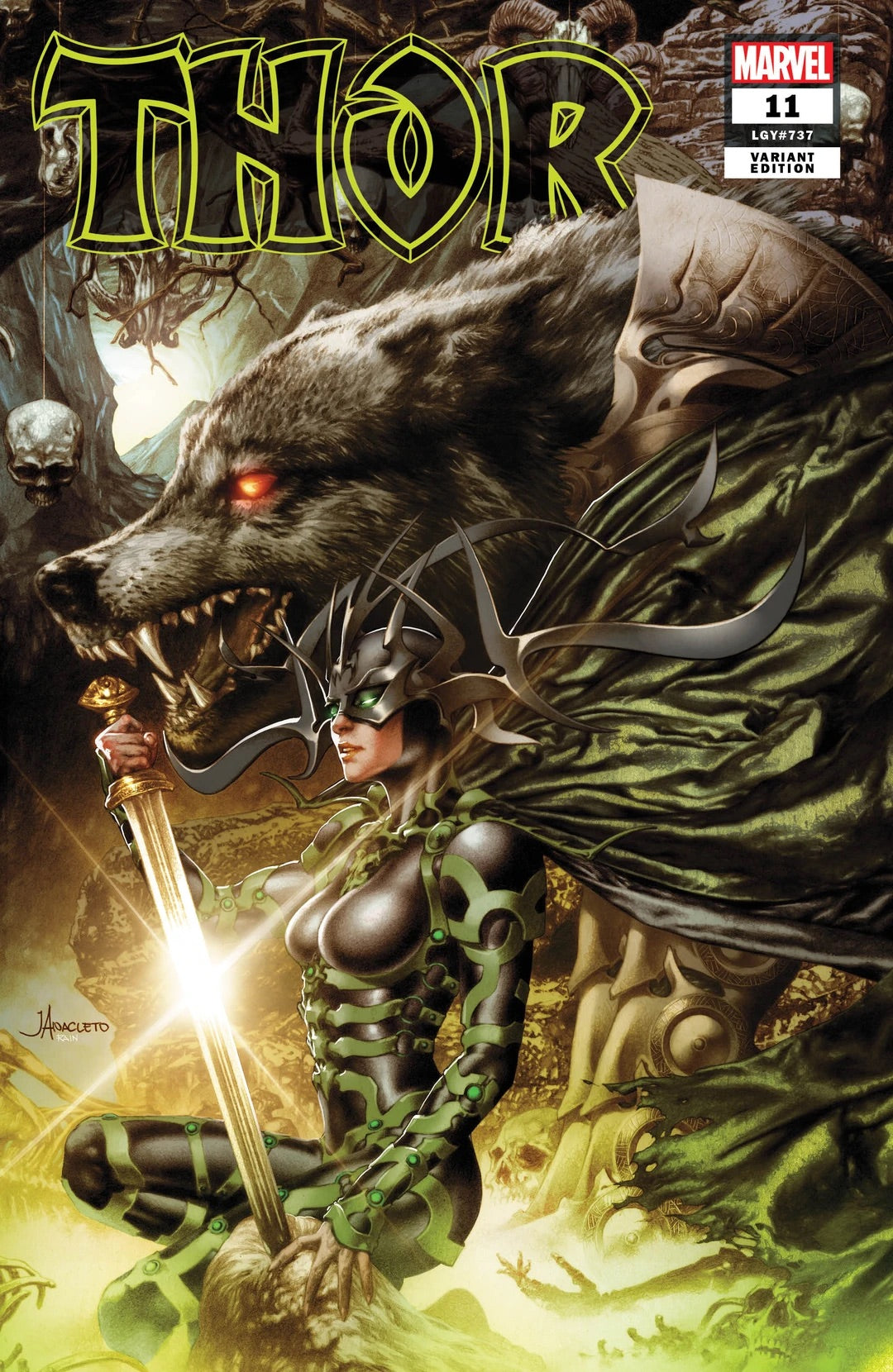 THOR #11 JAY ANACLETO Exclusive Hela Trade Dress Variant