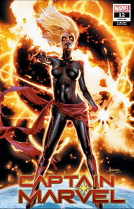 CAPTAIN MARVEL #12 JAY ANACLETO Exclusive Cover A 1st Dark Captain Marvel