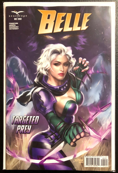 BELLE TARGETED PREY ONE SHOT Cover B Josh Burns Zenescope