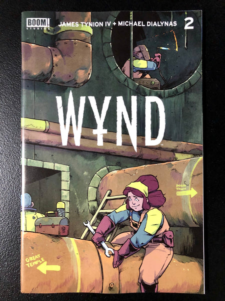 WYND #2 Cover A MICHAEL DIALYNAS