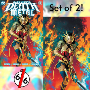DARK NIGHTS DEATH METAL #5 JOSHUA MIDDLETON SET OF 2 Exclusive Variants