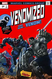 VENOMIZED #1 SKAN Trade Dress Variant Hulk #181 Homage