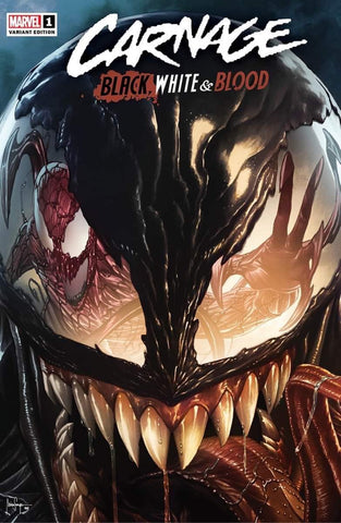🚨🔥 CARNAGE BLACK WHITE AND BLOOD #1 MICO SUAYAN Exclusive Trade Dress Variant