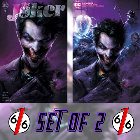 JOKER #1 FRANCESCO MATTINA VARIANT SET OF 2 Trade Dress & Minimal LTD 1500