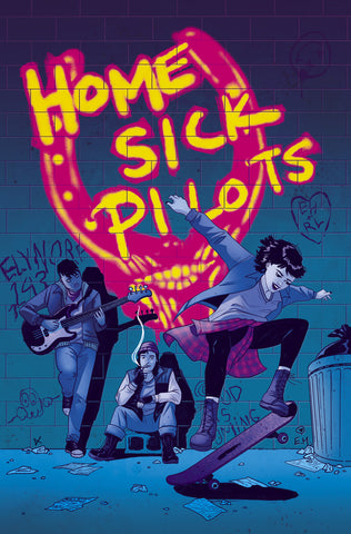 HOME SICK PILOTS #1 MEGAN HUTCHISON Exclusive Virgin Variant Ltd 500 COA