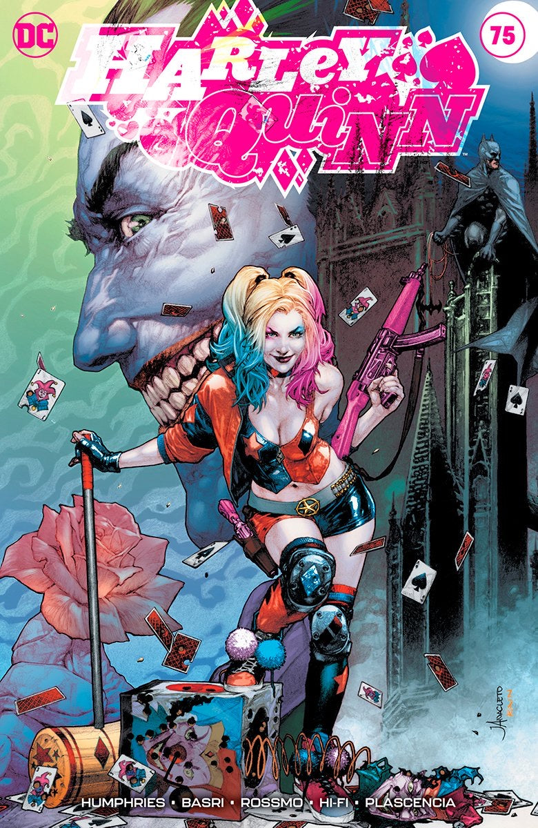 HARLEY QUINN #75 JAY ANACLETO Exclusive Trade Dress