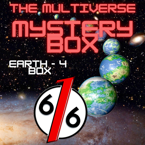 MULTIVERSE MYSTERY BOX - EARTH 4 BOX - 5 Exclusive Variants / 6 Comics Total!