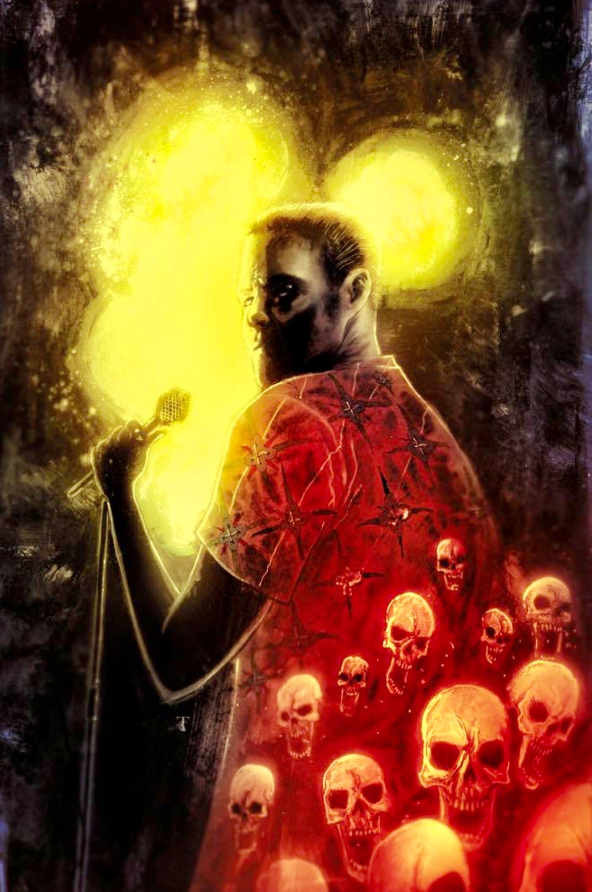 DYING IS EASY #1 TEMPLESMITH Exclusive Variant Cover Ltd To 1000 IDW
