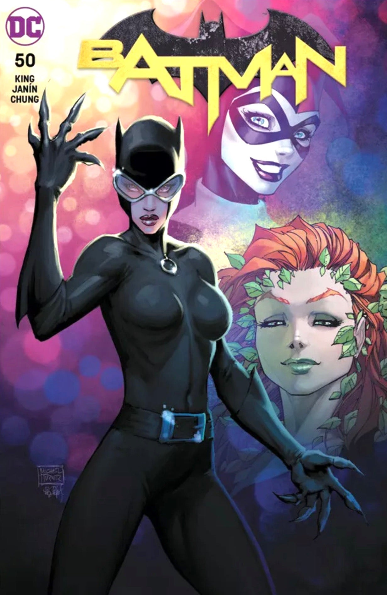 BATMAN #50 MICHAEL TURNER EXCLUSIVE Cover A Catwoman