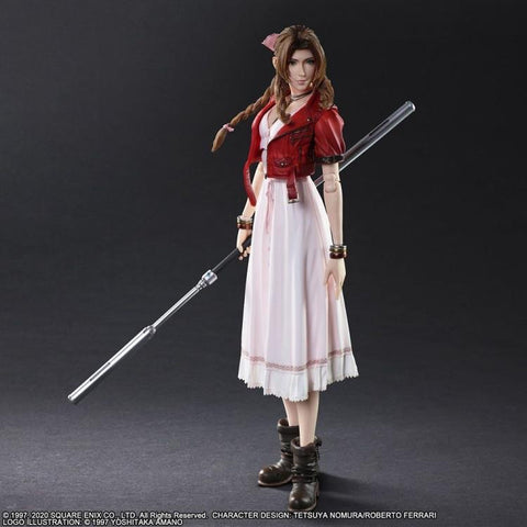 FINAL FANTASY VIIR REMAKE PLAY ARTS KAI AERITH GAINSBOROUGH Figure