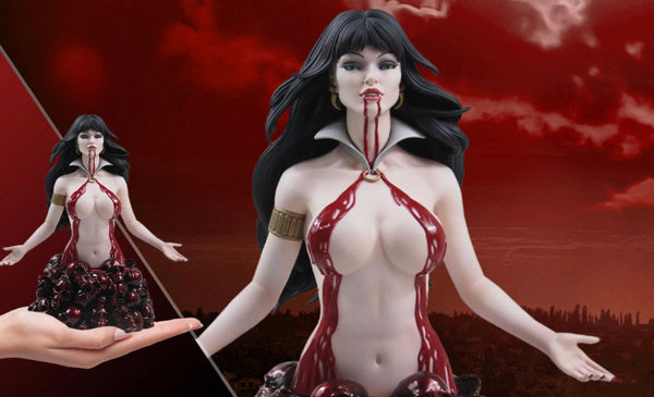 VAMPIRELLA RED REIGN ARTGERM BUST Women Of Dynamite Limited To 299