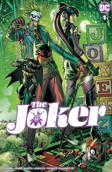 JOKER #1 JONBOY MEYERS & MATTINA VARIANT SET OF 2 Trade Dress LTD 3000